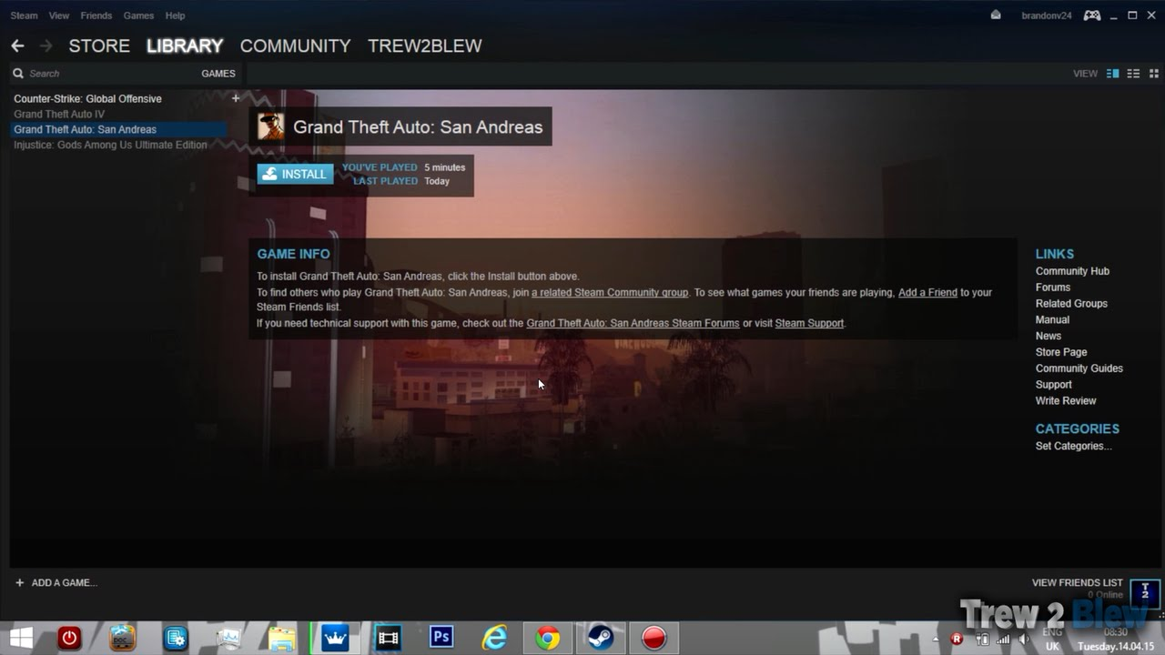 how to delete reinstall a steam game