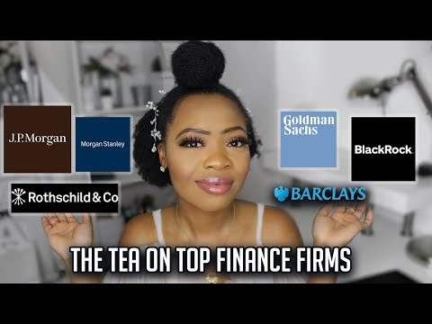 SPILLING THE TEA ON TOP INVESTMENT BANKS
