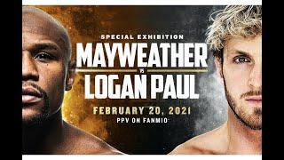 FLOYD MAYWEATHER VS LOGAN PAUL BOXING HIGHLIGHTS