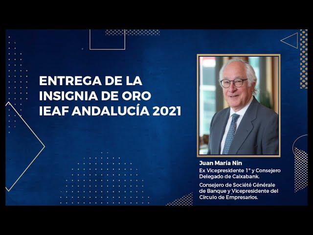 Entrega Insignia Oro 2021