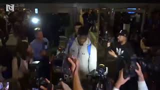 UCLA players land in LA after Trump asks China's Xi for help