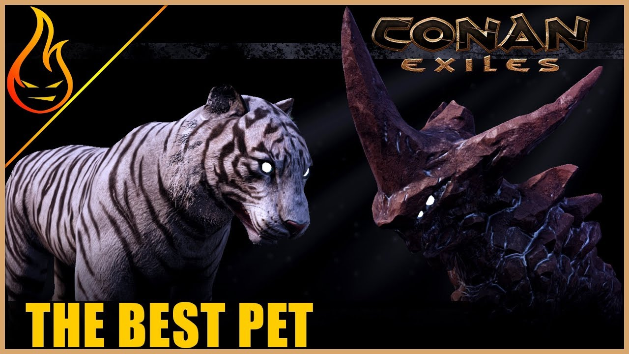 Which Pet Is The Strongest Part 1 Conan Exiles Pet Update