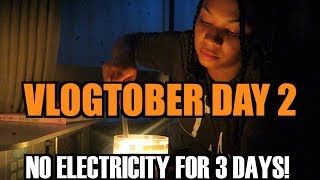 TYPHOON TRAMI LOSS POWER FOR 3 DAYS! WHITAKERS WAY VLOGS VLOGS VLOGTOBER DAY 2