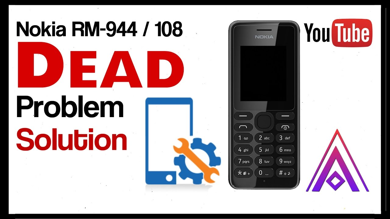 nokia rm 944 dead solution. - YouTube