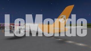 ROBLOX | LeMonde Airlines A380-800 Flight
