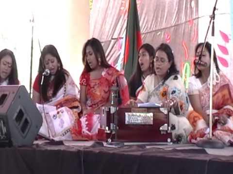 Bangladesh Institute of Florida Boisakhi Mela 1416 Gaan Abar Jombe Mela Bot Tola Hat Tola