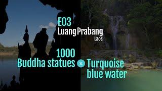 EP03 of Laos Diaries: 2 must-do day tours from Luang Prabang (Kuang Si Waterfalls & Pak Ou Caves)