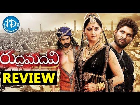 Rudramadevi Telugu Movie Review - Anushka...