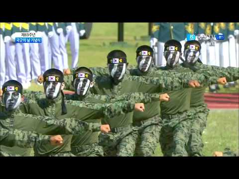 K Force TV - South Korea Armed Forces Day Parade 2017 : Special Forces Extreme Taekwondo Demo [720p]