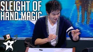 Best Sleight Of Hand Magic on Asia's Got Talent 2019 | Magicians Got Talent
