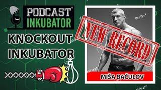 Knockout Inkubator NOVI REKORD - Miša Bačulov udara krušku