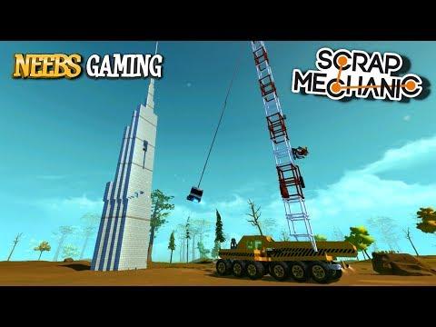 Scrap Mechanic Wrecking Ball Cranes