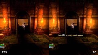 Dungeon Siege III PC vs 360/PS3 Comparison HD