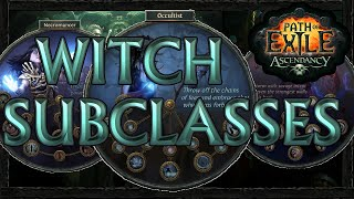 Path of Exile: Witch Ascendancy Classes Review