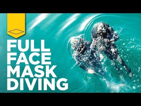 Diving a Full Face Mask | Kirby Morgan Modular MOD-1