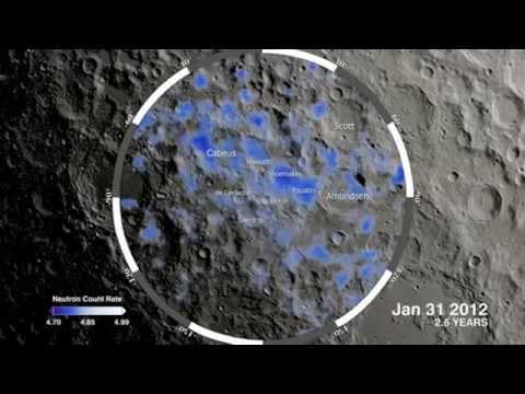 Water on the Moon Lunar acqua Luna WWW.GOODNEWS.WS