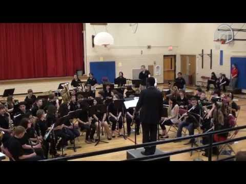 Elm Middle School Concert Band, May 2011