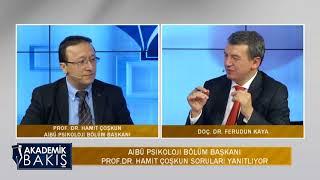Doç. Dr. Ferudun Kaya, Pisikoloji Bölüm Başk. Prof.Dr. Hamit Coşkun konuk etti.