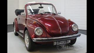 Volkswagen Beetle 1300 Cabriolet 1973  -VIDEO- www.ERclassics.com