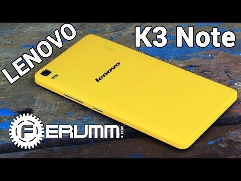 Lenovo K3 Note обзор.  Подробный обзор Lenovo K3 Note K50 t5 честно и без...