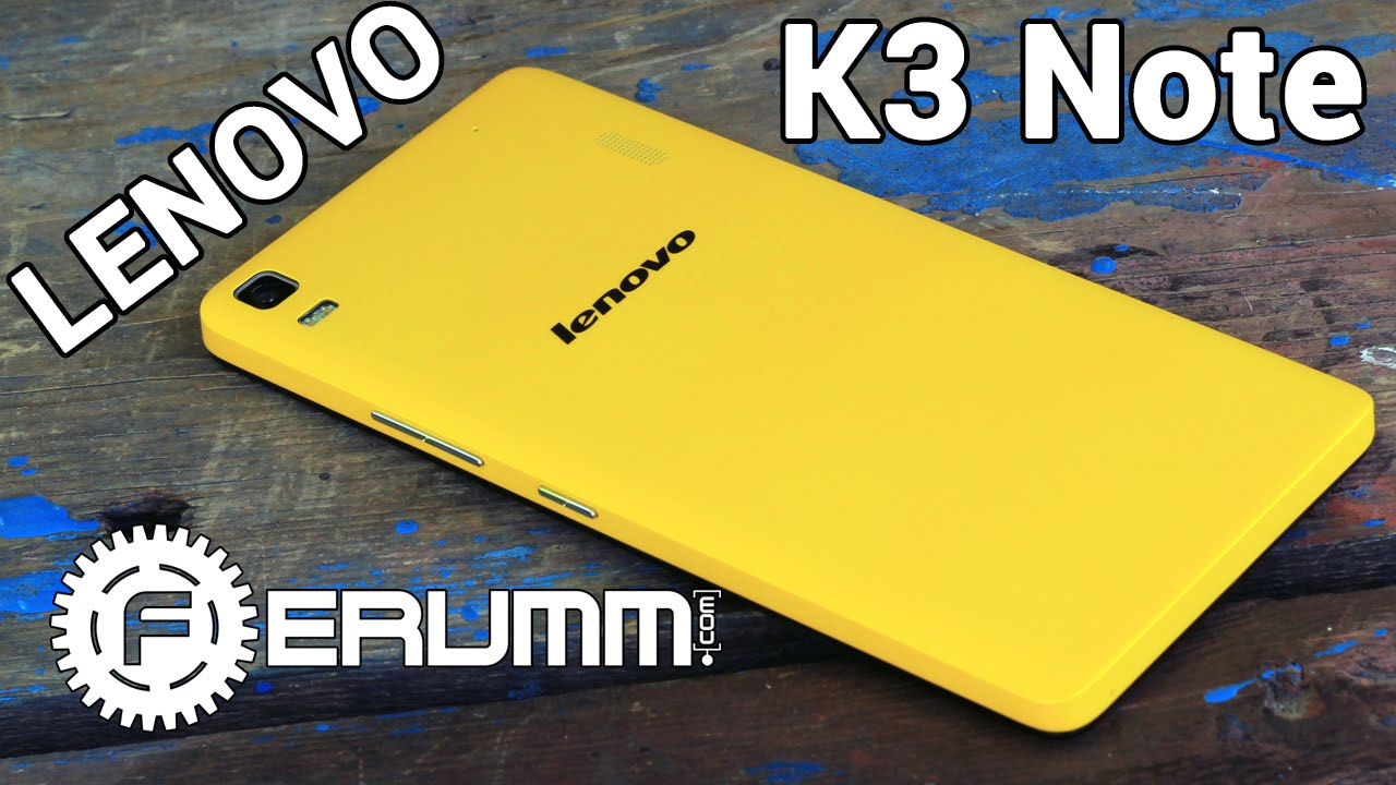 Lenovo K3 Note (k50 - t5) - YouTube