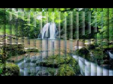 Waterfall & Jungle Sounds - Relaxing Tropical Rainforest Nature Sound Singing Birds Ambience