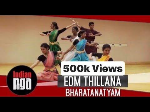 EDM Thillana: Bharatanatyam Presentation