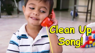 Clean Up Song | Pick Up and Put it Away | Children, Kids and Toddlers Song | Patty Shukla