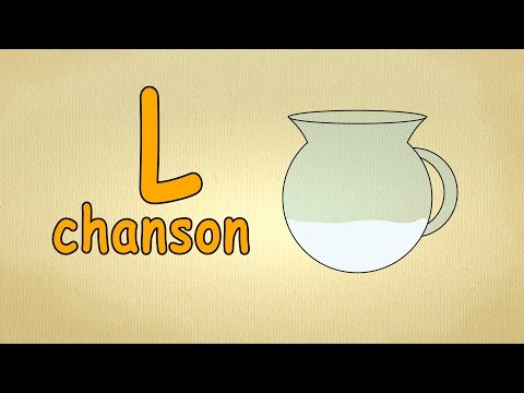 francais alphabet chanson - apprendre la lettre L - apprendre français pour les petit