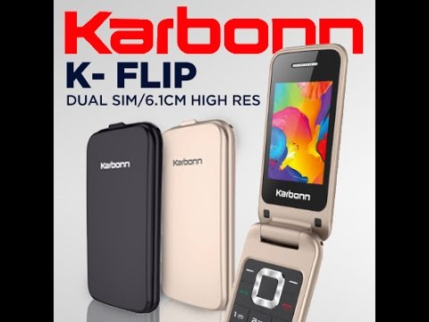 86879757932  Hindi - हिन्दी  Karbonn K-Flip Dual Sim (64MB) - YouTube