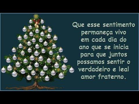 Árvore Do Coração-Mensagem De Natal