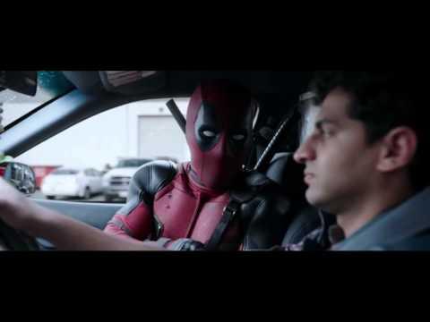 Deadpool escena del taxi 2