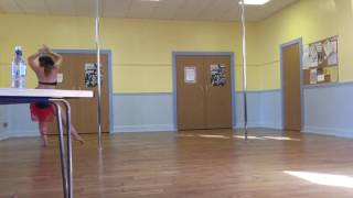 Justine - English Riviera Pole Competition beginners winner 2016