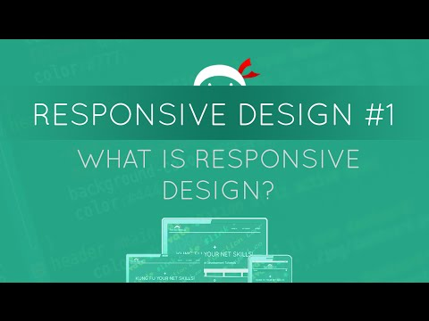 Responsive Web Design Tutorial #1 - What is Responsive Web Design?