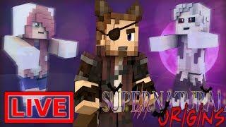 Minecraft Supernatural Origins #20.5 (Live Modded Survival)
