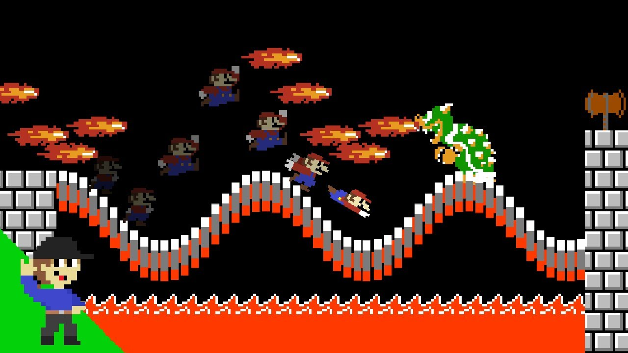 Here's how Mario can beat Impossible Mode 2 Bowser