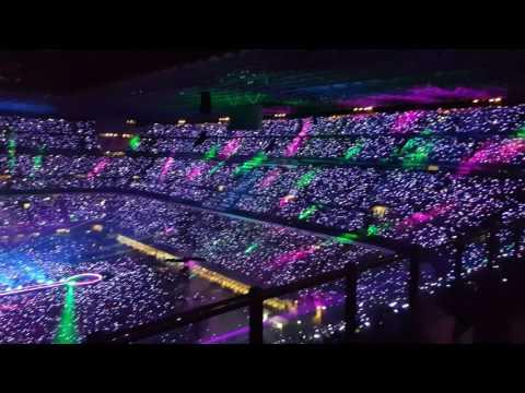 4k Milano Coldplay 03/07/2017 A Sky Full Of Stars Milano 03/07/2017