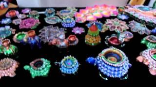 Designer Diwali Diyas