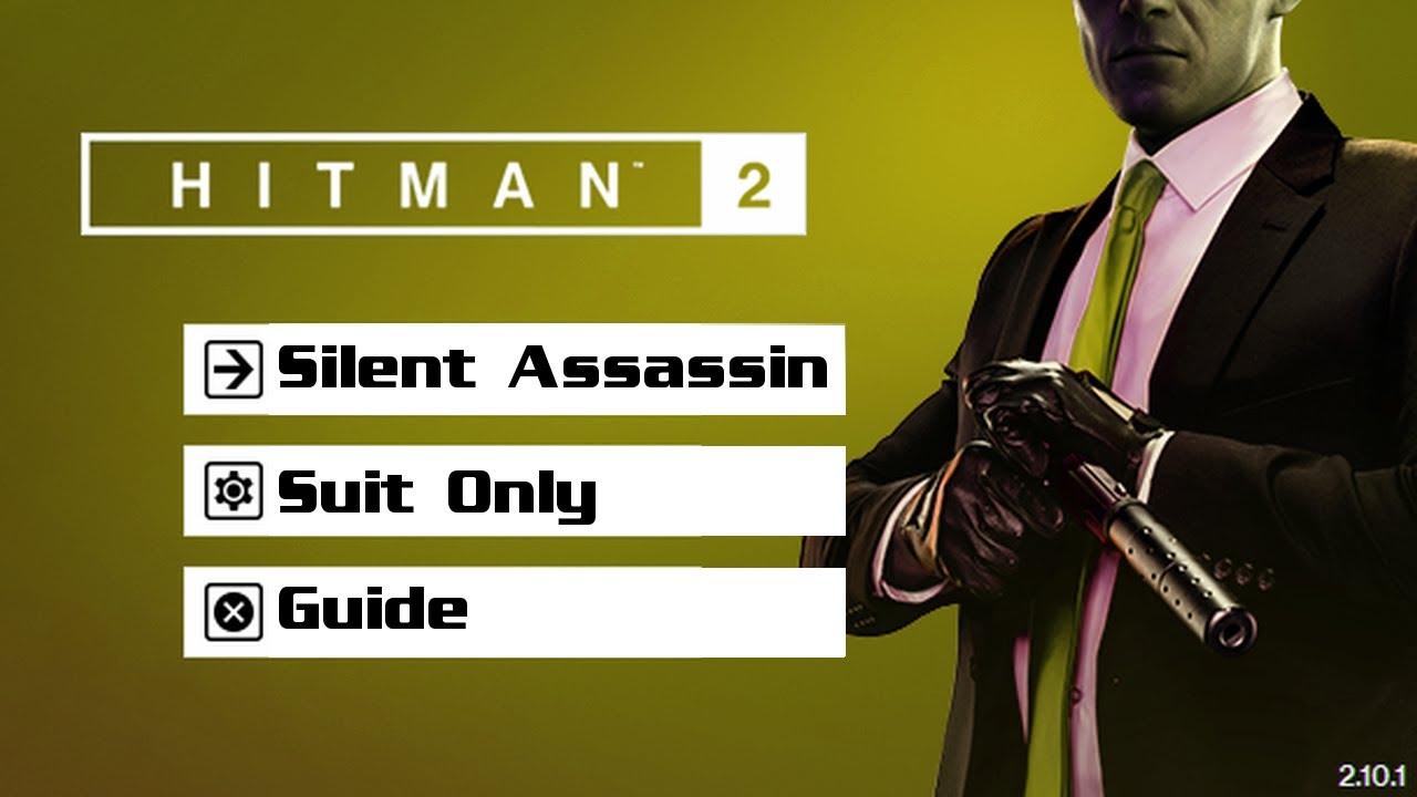 Hitman 2 Sapienza Silent Assassin Suit Only Master