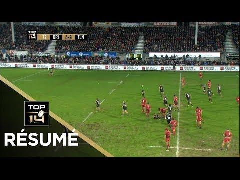 TOP 14 - Résumé Brive-Toulon: 13-12 - J15 - Saison 2017/2018