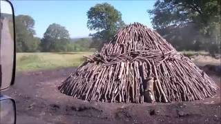 Romania - Prehistoric charcoal production technique