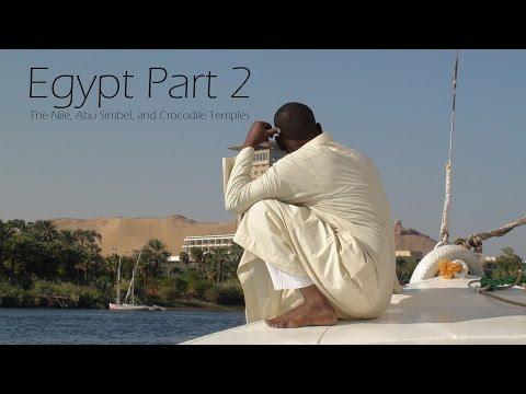 Contiki Egypt Part 2: The Nile, Abu Simbel, and Crocodile Temples