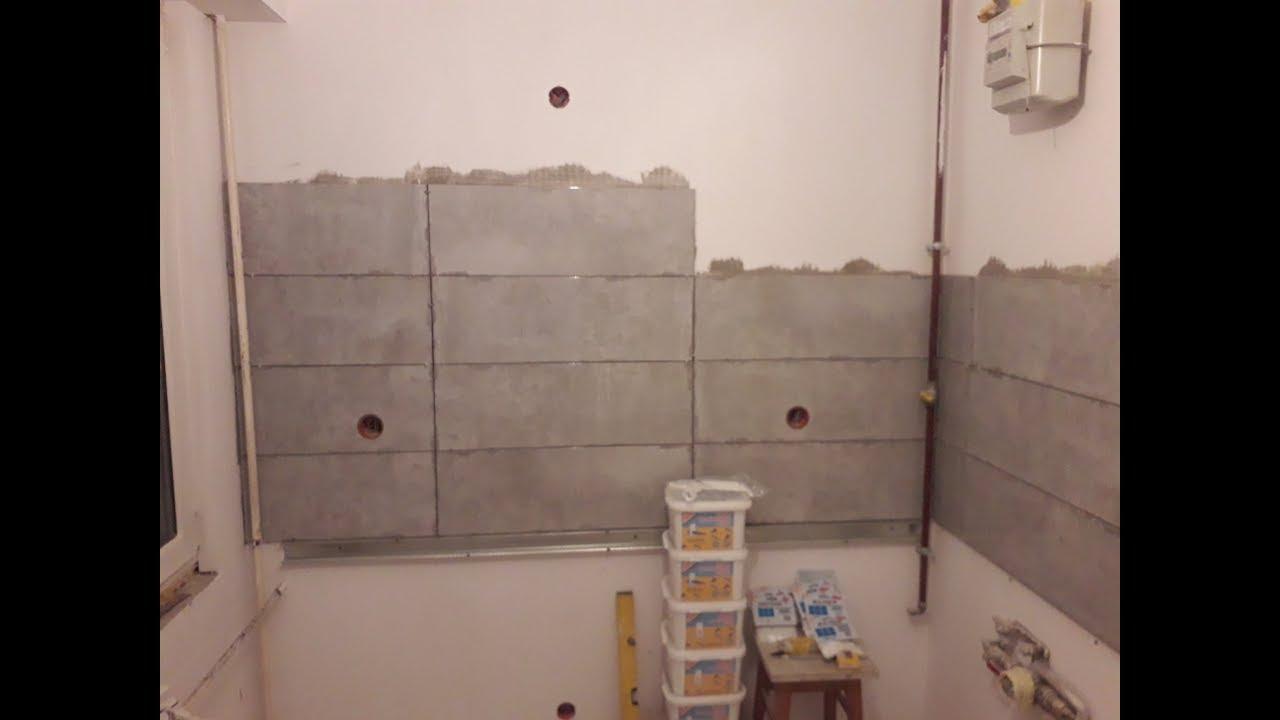 Remont Mieszkania W Bloku Z Wielkiej Płyty 12 Układanie Płytek W Kuchni Na ścianie