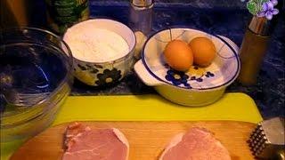 Как приготовить отбивные за пять минут - отбивные в кляре рецепт