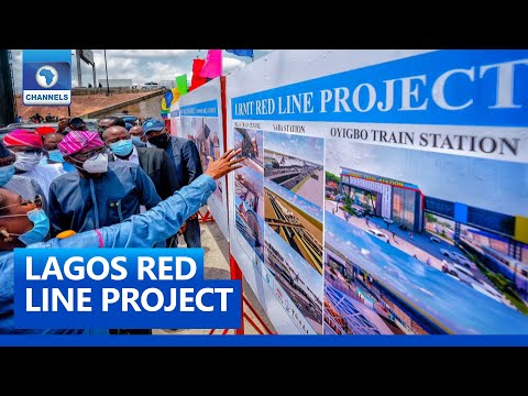 Sanwo-Olu Flags Off Construction Of Rail Mass Transit In Lagos