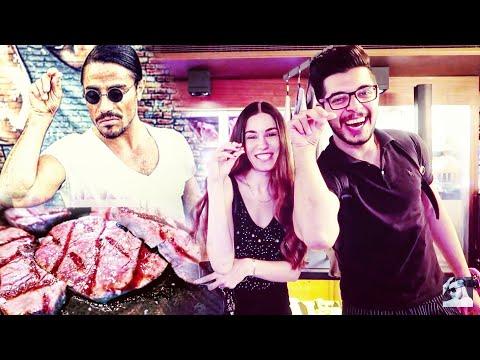 جربنة اشهر مطعم لحم في العالم صاحب الرشة المشهورة نسرت برغر في اسطنبول مع احمد باسم
