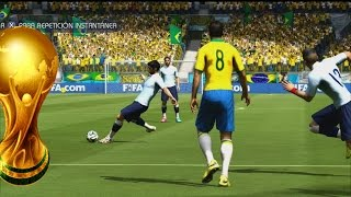 2014 Fifa World Cup Gameplay Xbox- Uruguay Vs Brasil, Reviviendo el Maracanazo de 1950