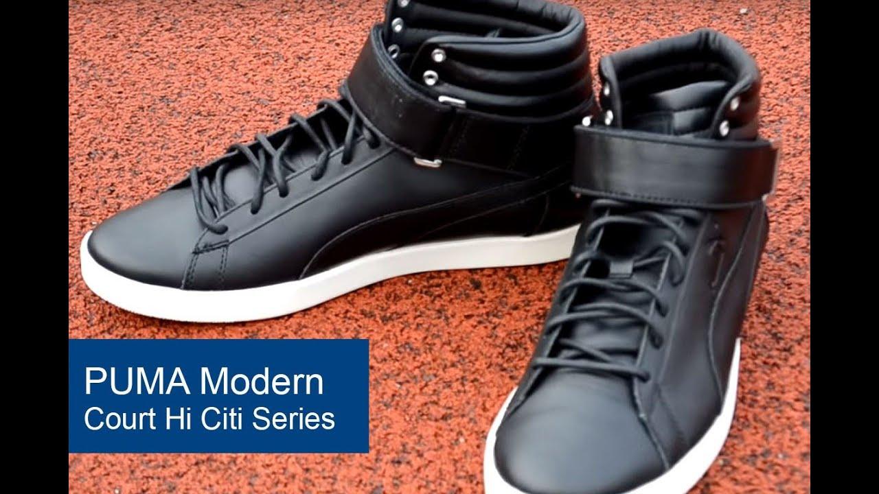 Puma Modern Court Hi Black shoes online hot sale