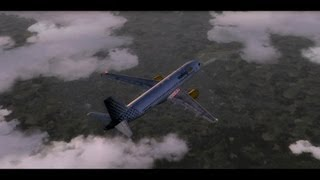 HD FSX-Vueling Airlines Paris to Rome