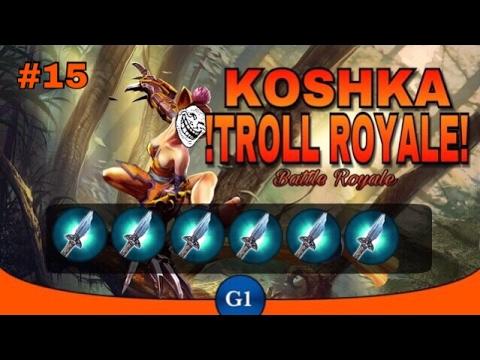 VAINGLORY: Koshka All Broken Myth Troll Build | Update 2.3! || Troll Royale Ep15